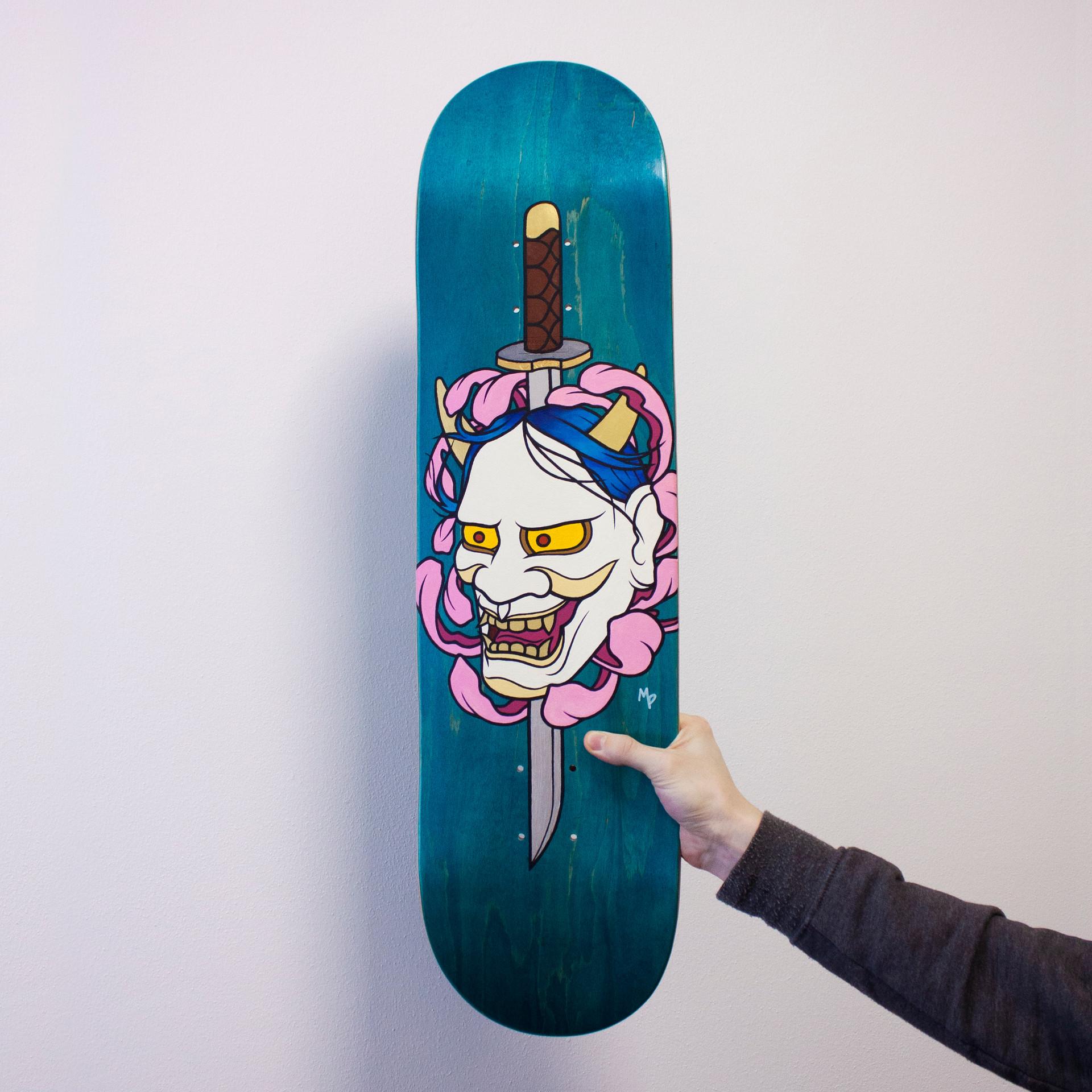 Hannya Skate Deck - MP Grafica