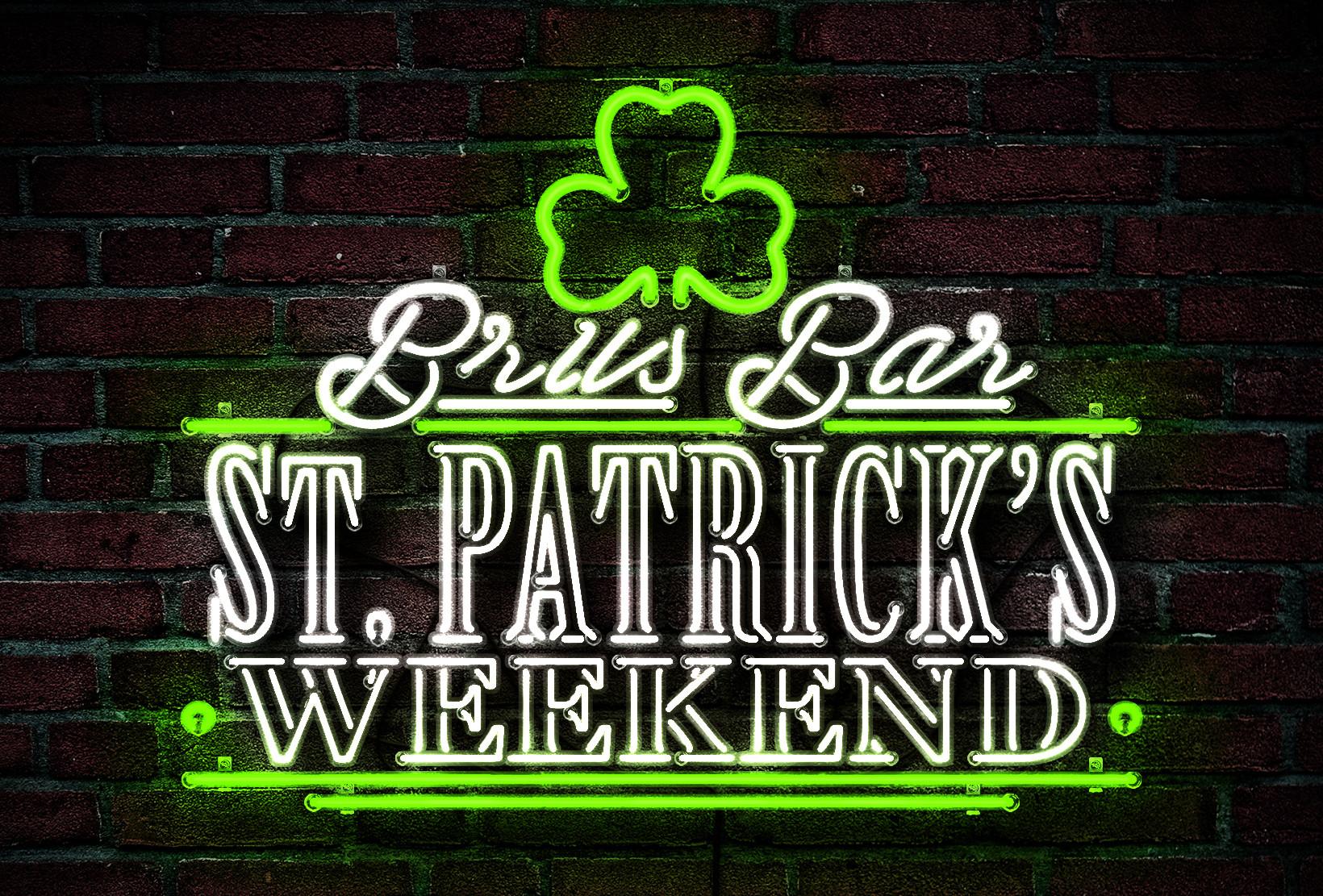 St Patrick's Weekend 2019 Logo - MP Grafica