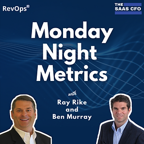 Monday Night Metrics Poster - Square Opt