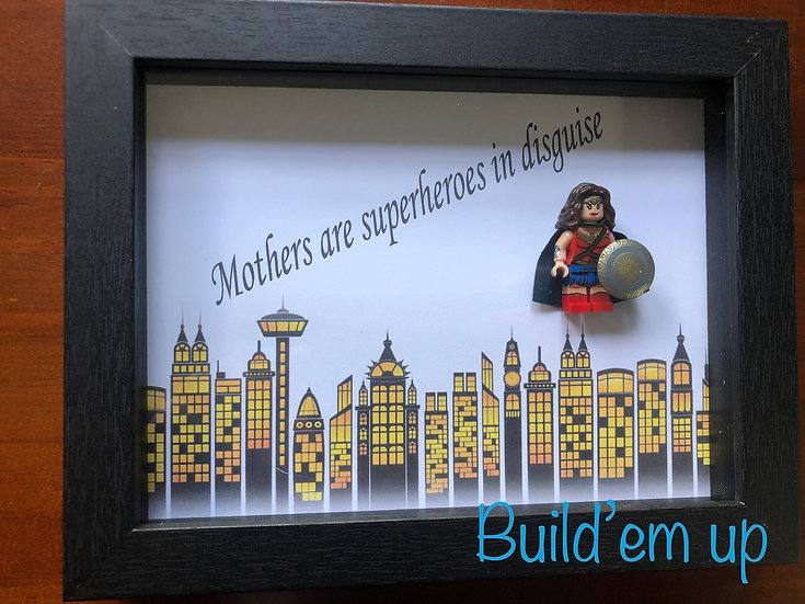 Mothers are Superheroes 6x8in