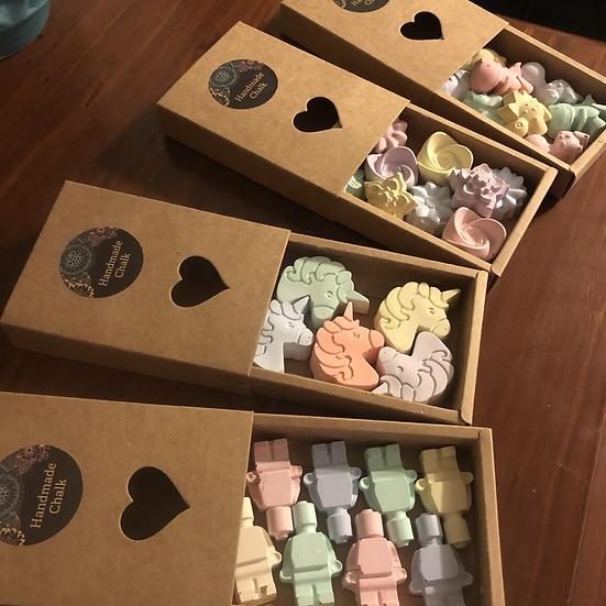 Mini Chalk Shapes
