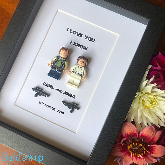 I love you I know -Personalised 6x8in