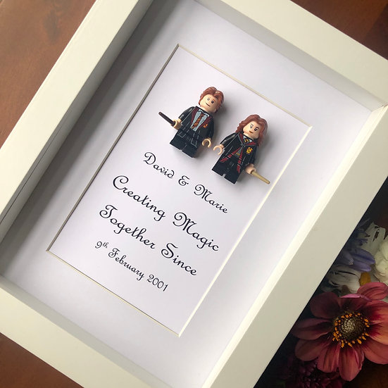 Harry Potter Aniversary frame 6x8in