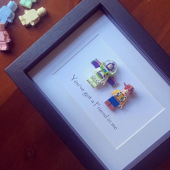 Buzz & Woody 8x10in