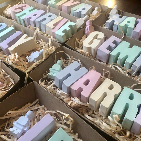 Chunky Chalk Letters