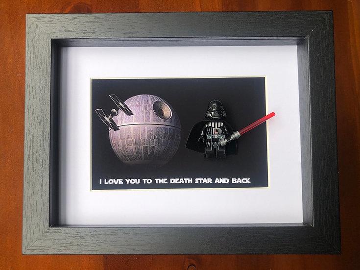 Death Star 6x8in
