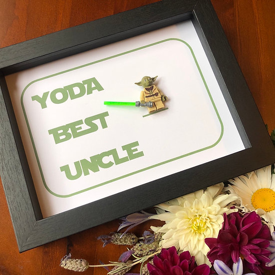 Yoda Best... Dad, Brother, Uncle, Granddad 6x8in