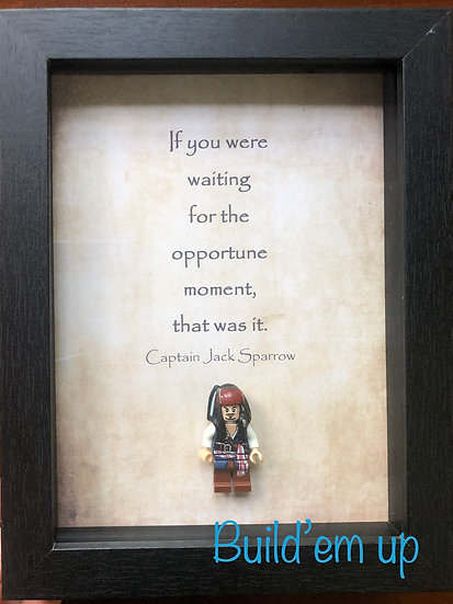 Opportune Moment- Jack Sparrow 6x8in