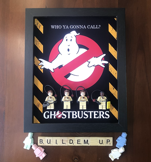 Ghostbusters Frame 8x10in
