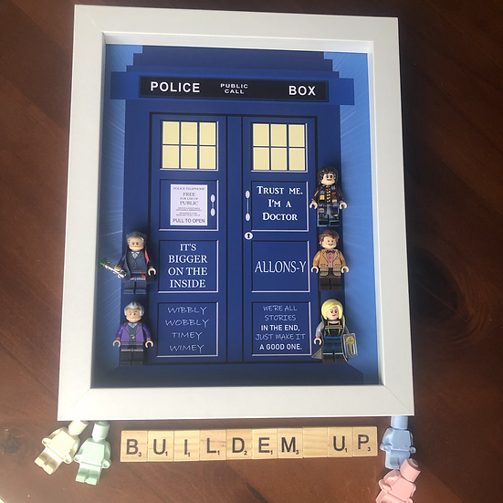 Dr Who Tardis Frame 8x10in