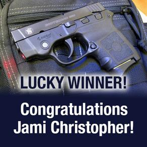 Congratulations, Jami Christopher!