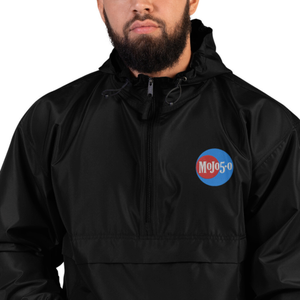 Mojo 5-0 Radio Logo Champion Packable Jacket