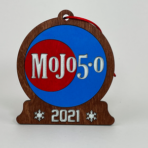 2021 Mojo 5-0 Radio Christmas Ornaments are Now Available!