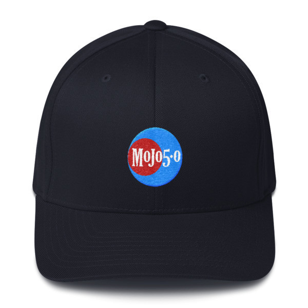 Mojo 5-0 Embroidered Flex Cap