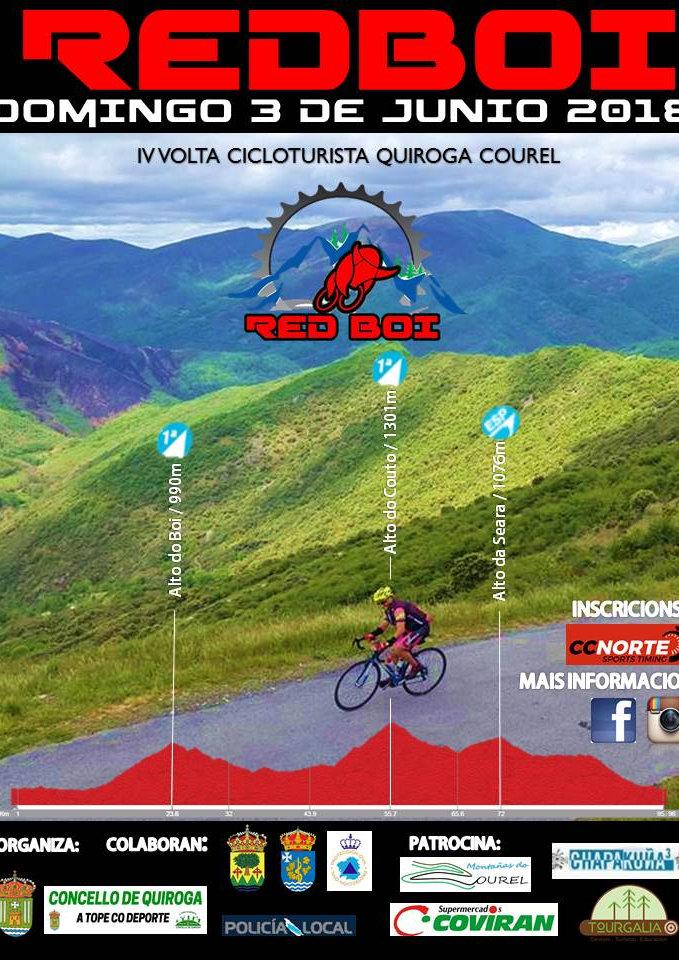 I Marcha Cicloturista RED BOI Quiroga- Courel 97km.19 abril 2015