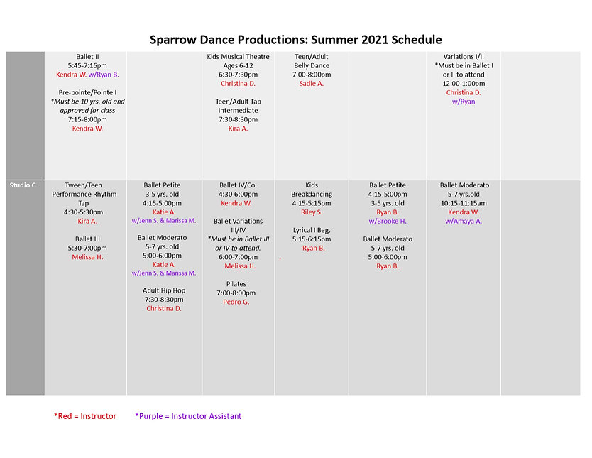 Sparrow Dance Productions_Summer 2021_We