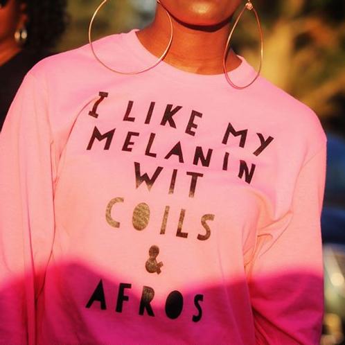 Melanin,Coils & Afros