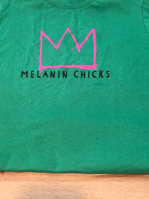Melanin Chicks fitted tee