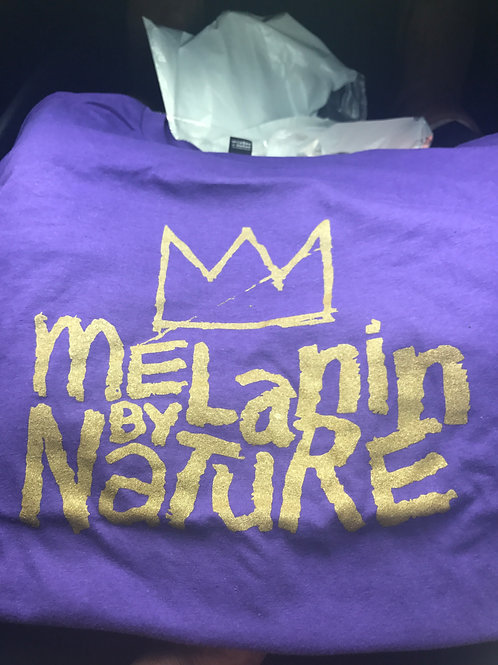 Omega inspired Melanin By Nature Tee