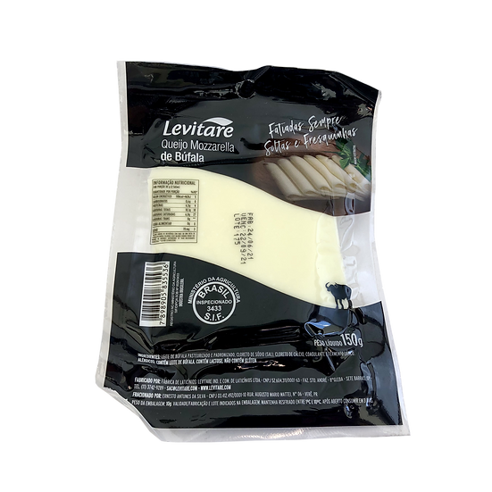 Mozzarella de Búfala Fatiada - Levitare (150g)