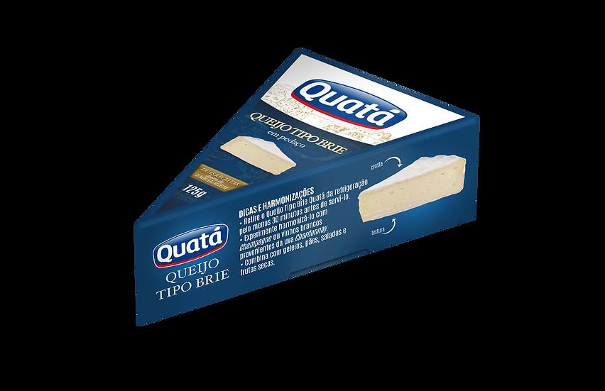 Queijo Brie Fracionado 125g - Quatá