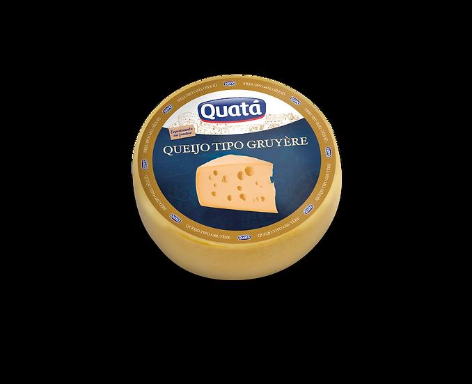 Queijo Gruyère Peça (12kg) - Quatá