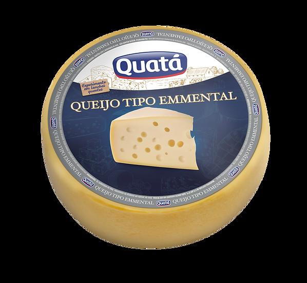 Queijo Emmental Peça (13kg) - Quatá