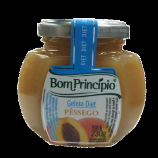 Geleia de Pêssego Diet - Bom Princípio (230g)