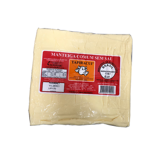 Manteiga Com Sal - Tapiracui (5kg)