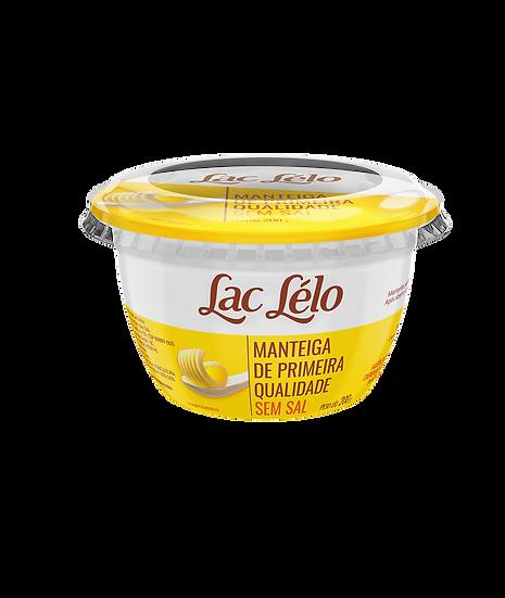 Manteiga de Primeira Qualidade Sem Sal - Lac Lelo (200g)