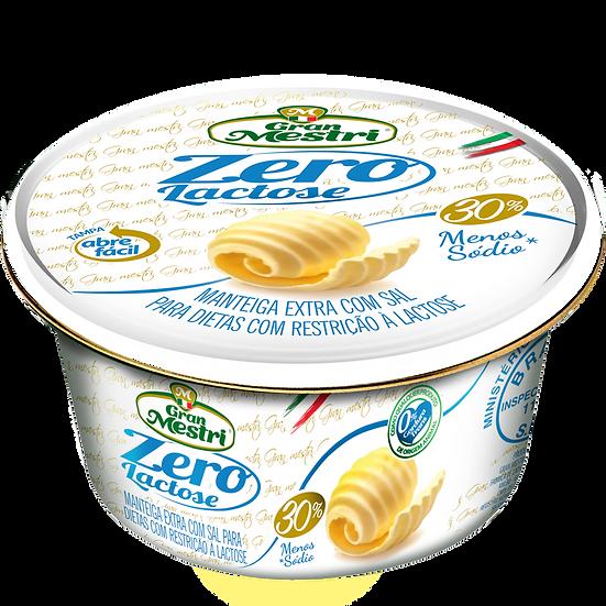 Manteiga Extra Zero Lactose Com Sal - Gran Mestri (200g)
