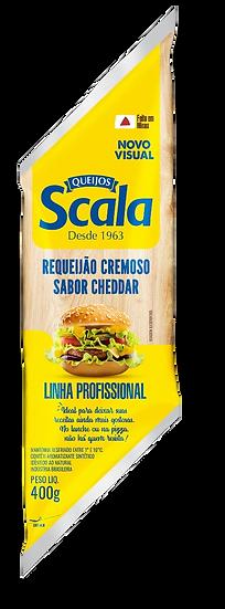 Requeijão Cremoso Sabor Cheddar Bisnaga - Scala (400g)