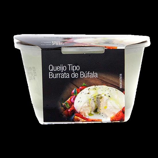 Mozzarella de Búfala Tipo Burrata - Levitare (160g)