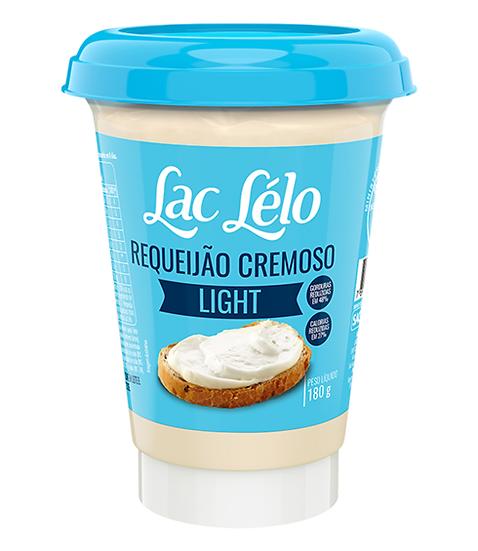 Requeijão Cremoso Light - Lac Lelo (180g)