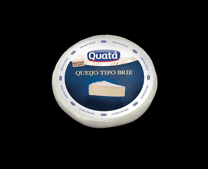 Queijo Brie Peça 1kg - Quatá