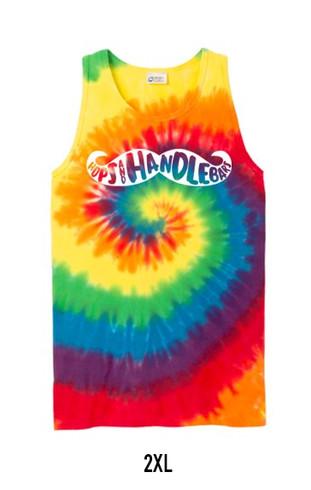 Rainbow Tie Dye Tank Top