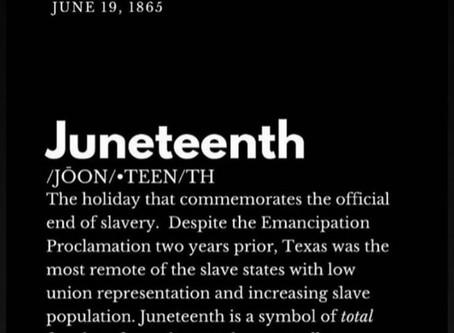 Celebrating Freedom. Juneteenth