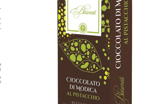 Cioccolato di Modica al Pistachhio. I BLASONATI