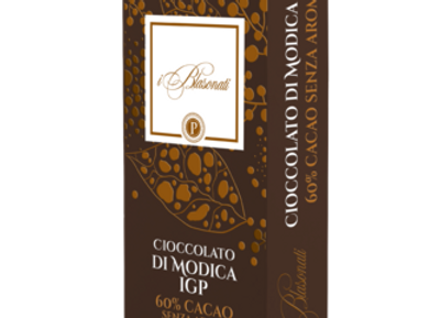 Cioccolato di Modica Fondente.  I BLASONATI