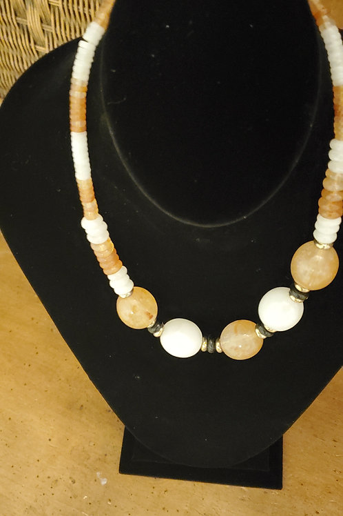 5 large bead necklace