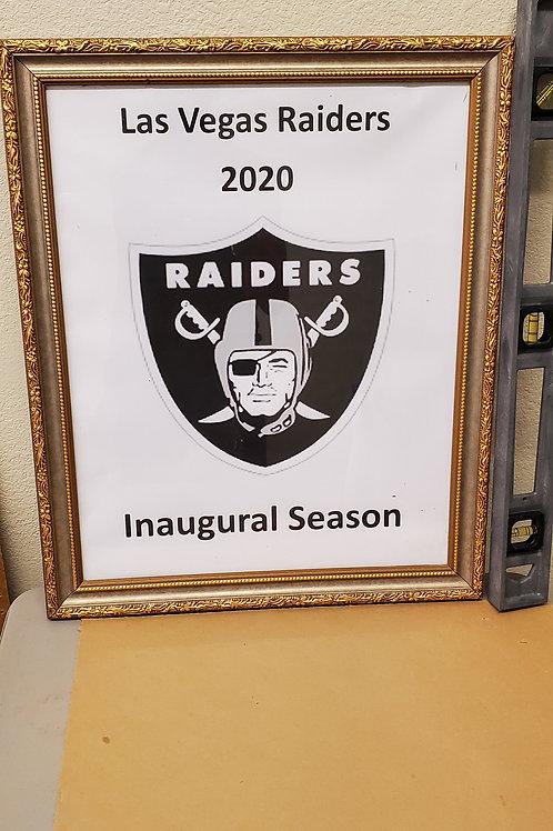 Raiders 2020 Inaugural Season Print