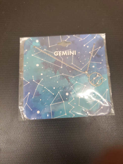 Gemini necklace
