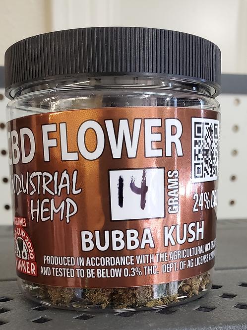 Bubba Kush CBD flower