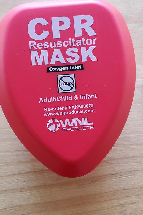 CPR Resuscitator Mask