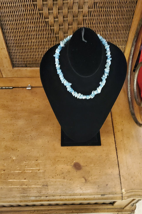 Shell type necklace