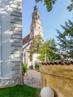 Loft18 Amberg - Blick auf die Georgskirche