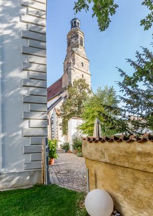 LOFT18 BUSINESS LOCATION A - Blick auf die Georgskirche