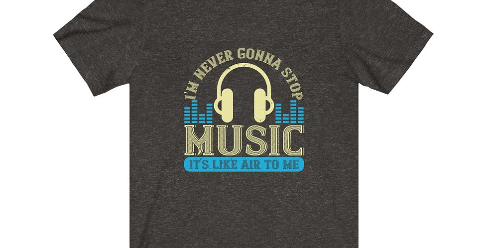 Music Is Like Air Tee