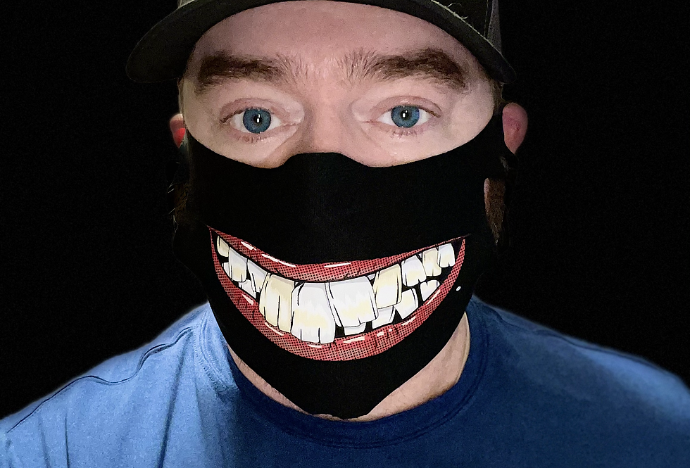 Toothy Face Cover