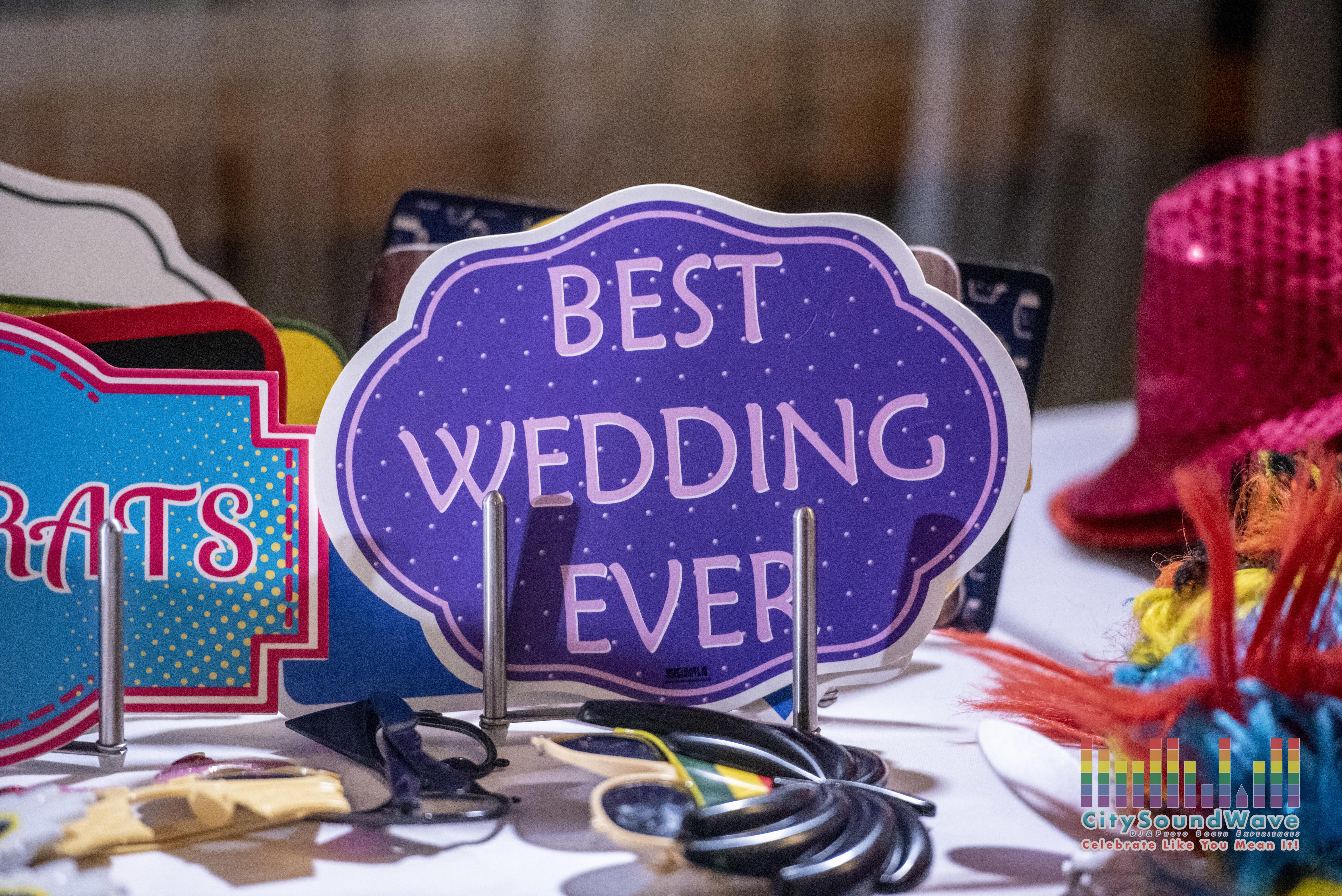 Best Wedding Ever Props